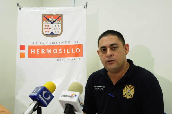 Estudiarán distribución de plazas para Bomberos de Hermosillo