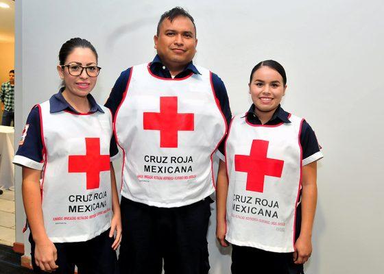 Festejan Día del Socorrista en Cruz Roja