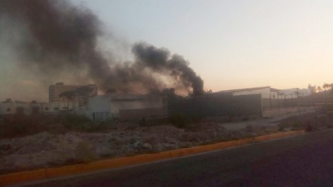 Asusta intensidad de humo a vecinos de la Pitic