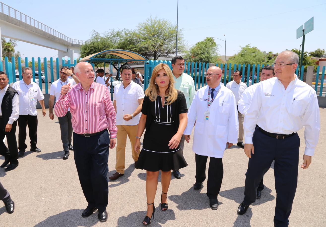 nuevo hospital general del estado en curso narro robles