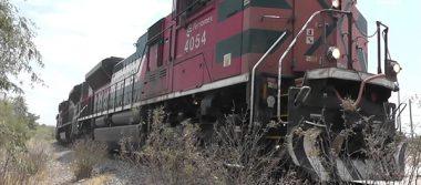 Arrolla tren a un hombre