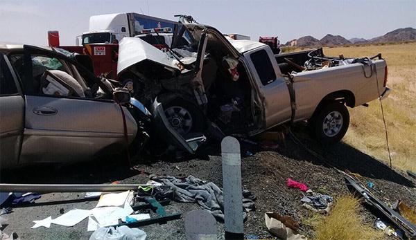 Deja choque 3 muertos en carretera San Luis-Sonoyta