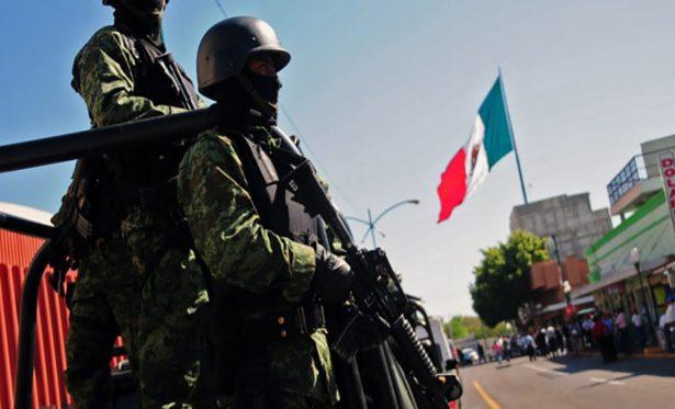 Disminuye delincuencia en Cajeme por intervención de militares y policías
