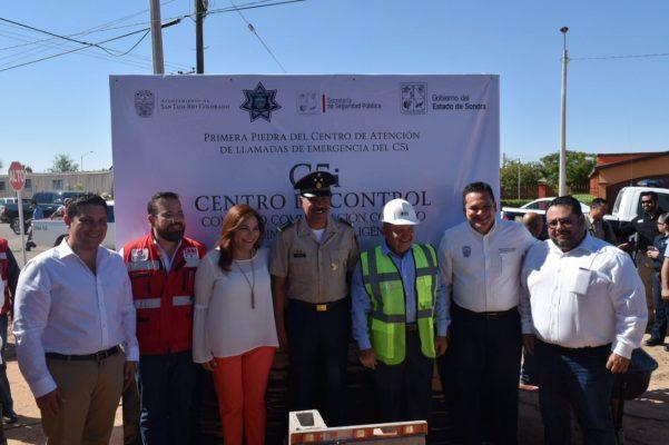 Inicia construcción del C5i en San Luis Río Colorado