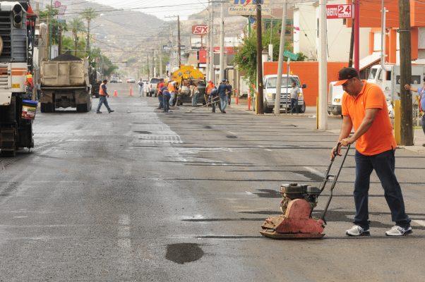 Continúa reparación de daños por las lluvias