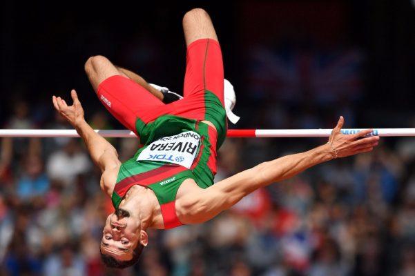 Edgar Rivera logra cuarto lugar en salto de altura