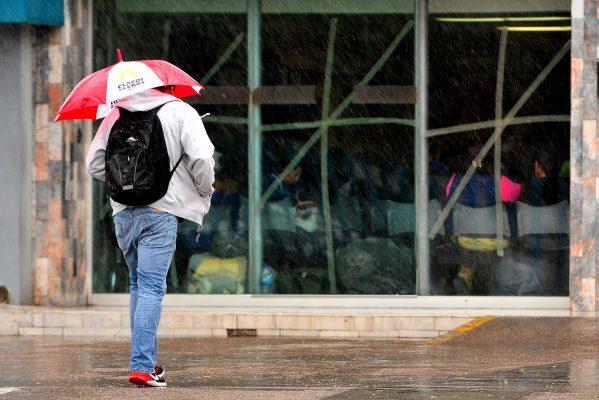 Prevén lluvias para hoy en la ciudad