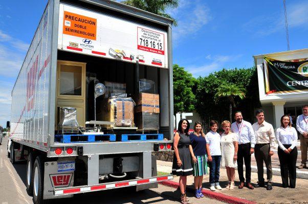 Entrega Casa Ley equipo en apoyo al DIF Sonora