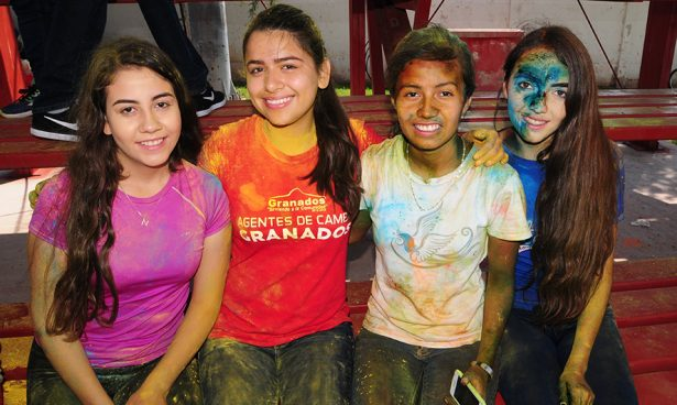 Colores, diversión y juventud