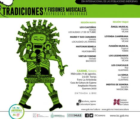 Presentarán músicos indígenas sus fusiones musicales