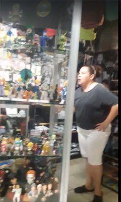 Aparece #LadySayayin en Hermosillo