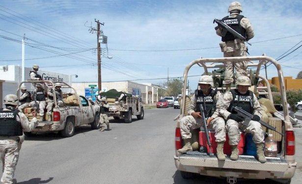 Ante presencia de militares piden conservar la calma