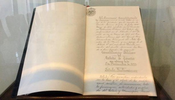 100 años de la Constitución de Sonora, por un Estado libre y soberano