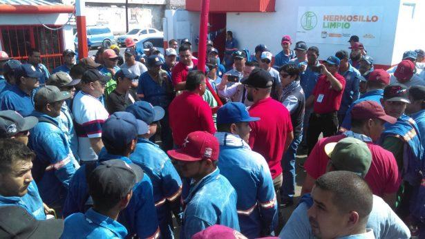 Trabajadores de recolección de basura exigen soluciones