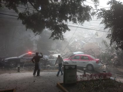 Van 230 muertos por el sismo; 100 en la CDMX