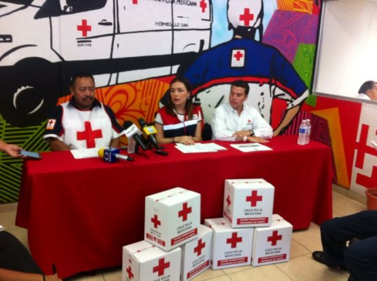 Recolecta de Cruz Roja está disponible las 24 horas