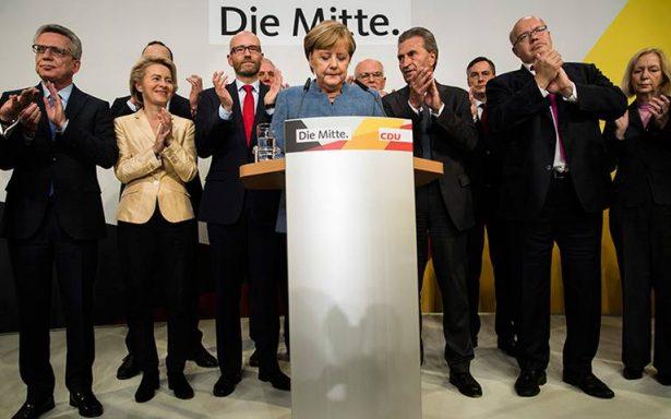 Merkel logra triunfo con sabor amargo en elecciones alemanas: ultraderecha entra al parlamento