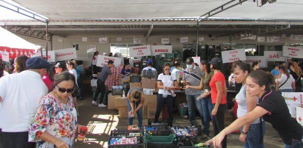 Requiere Cruz Roja sumar voluntarios para línea de empaque