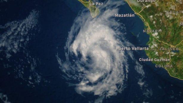 Ciclón tropical podría llegar a Sonora