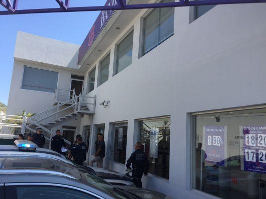 Asaltan por cuarta ocasión un banco en el bulevar Morelos