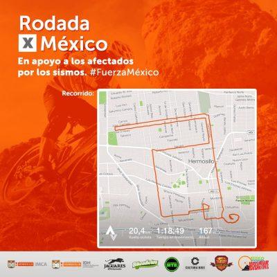 Invitan a Rodada por México para apoyar a afectados por sismo