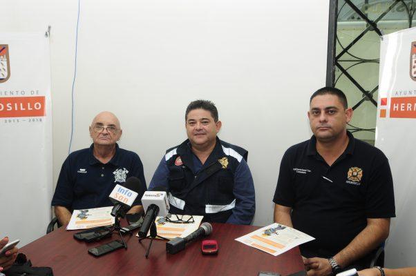Invitan a participar en la Academia Juvenil de Bomberos de Hermosillo