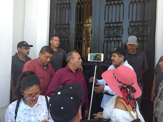Exigen manifestantes que se eliminen las casetas