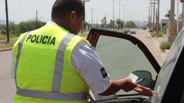 Formula Transito local 7 mil 931 infracciones en una semana