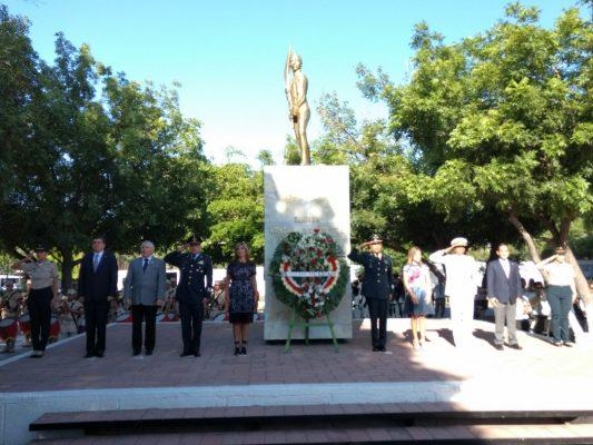 Conmemoran el 170 aniversario de la gesta heroica de los Niños Héroes