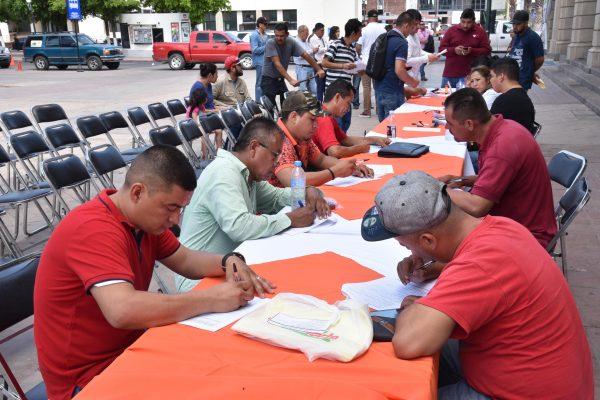 Acuden más de 300 hermosillenses para empleo temporal