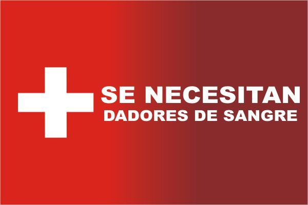 Solicitan donadores de sangre