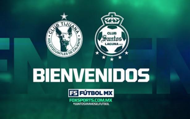 Xolos y Santos se van de Tv Azteca y serán transmitidos por Fox Sports en 2018