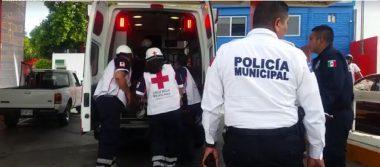 Choques dejan 2 lesionados en la Balderrama