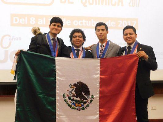 Sonorenses ganan plata y bronce en Olimpiada Iberoamericana de Química