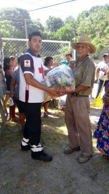 Cruz Roja Hermosillo llevará despensas a Oaxaca