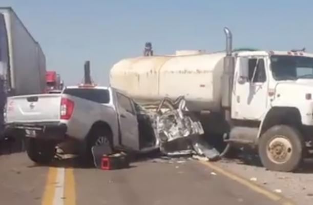 Accidente carretero deja un muerto y 3 lesionados de gravedad