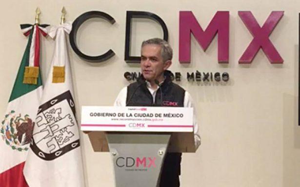 A casi dos meses del sismo, CDMX no ha recibido apoyo del Fonden: Mancera