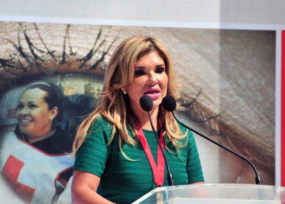 Gobernadora pide agilizar proceso de gasoducto en Loma de Bácum