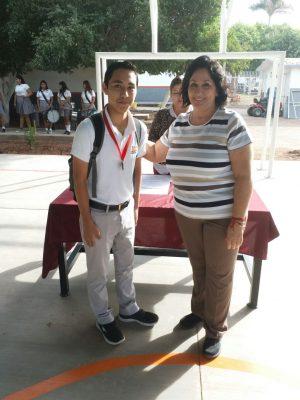 Estudiante del Cobach gana medalla de Oro