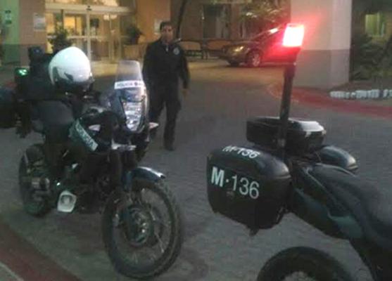 Apoyan Policías con traslado de menor a un hospital