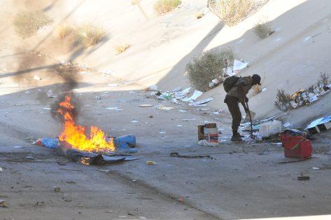 Foto 4 - indigente fuego - Germán Murrieta