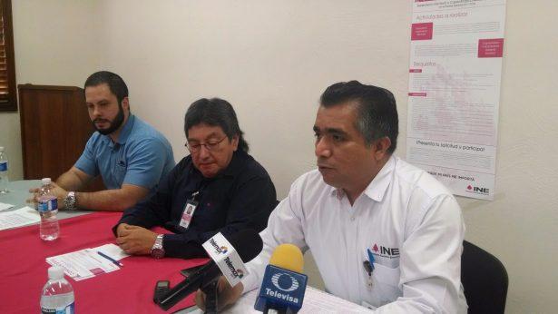 Convoca INE a interesados en ocupar el cargo de funcionarios de casillas