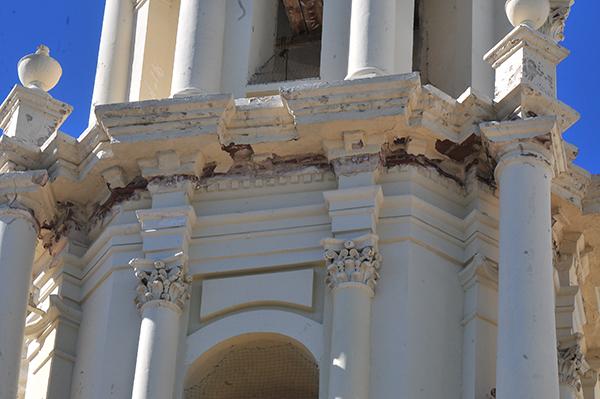 Realizan diagnóstico a daños en Catedral