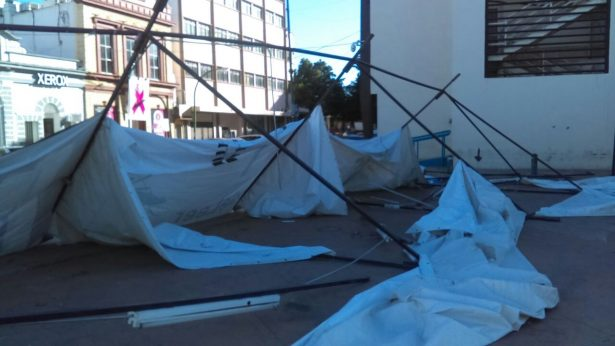 Sufre daños la infraestructura de la pasada Feria del Libro 2017
