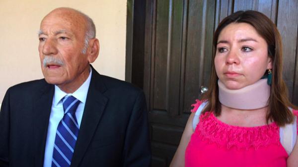 Sufre María Peraza un segundo atentado