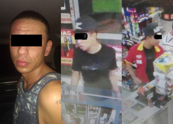 Capturan a implicado en robos con violencia a tiendas de autoservicio
