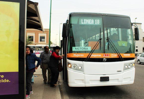 Sancionarán a concesionarios de transporte que no cumplan con normas de calidad