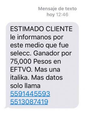 Alertan a ciudadanía por mensajes falsos