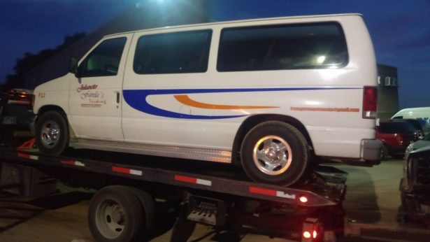 Aseguran vehículo involucrado en el atropellamiento de dos mujeres