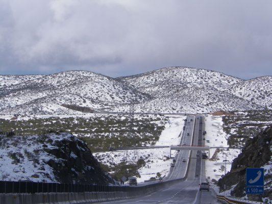 Sierra de Sonora registra la primera nevada de la temporada